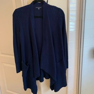 American Eagle- Navy drake knitted cardigan-Size S